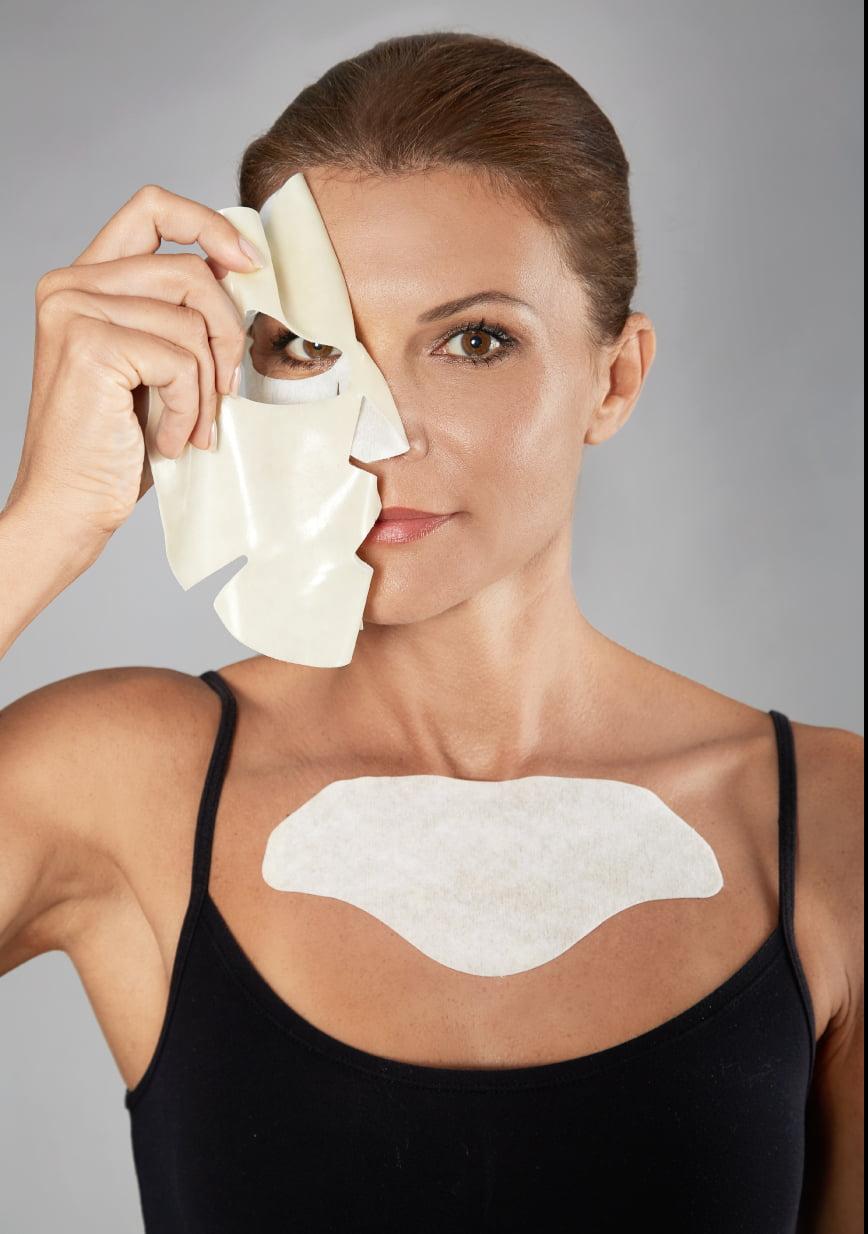 Hyamira Lifting Mask Applicazione Viso Decollete