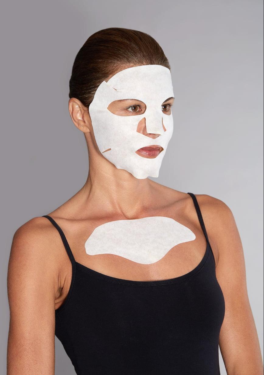 Hyamira Mask Ppt Applicazione Viso Decollete
